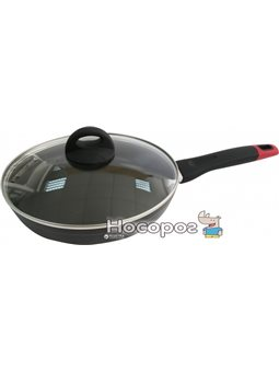 Сковорода Lessner Black Pro с крышкой 28 см (88366-28)