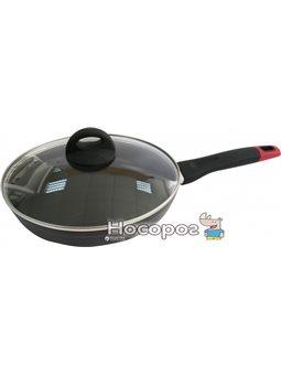 Сковорода Lessner Black Pro с крышкой 24 см (88366-24)