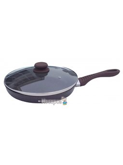 Сковорода Lessner Chocolate Line с крышкой 24 см (88364-24)