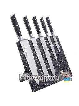 Набор ножей на подставке 6 предметов Krauff 29-250-001