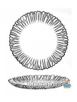 Набор тарелок Aurora Pasabahce d 21см, 6 стеклянных тарелок (PB-10512_psg)