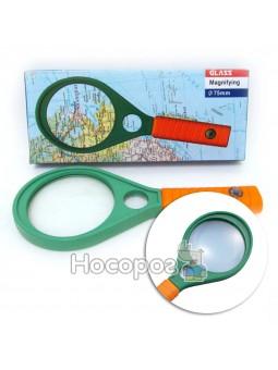 Лупа Magnifying 7816-75G 2 лінзи d-75mm + d-15mm