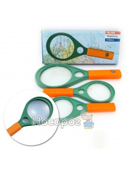 Лупа Magnifying 7816-90G 2 линзы d-90mm + d-15mm