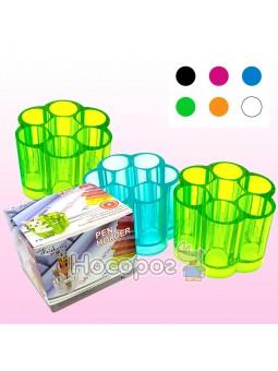 Стакан для ручек, пластиковый, 7 отделений, FS-9009, 561262