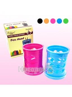 Стакан для ручек, пластиковый, FS-9003, 561265