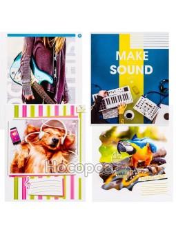 Зошит Поділля 12 аркушів нотний музичний А5
