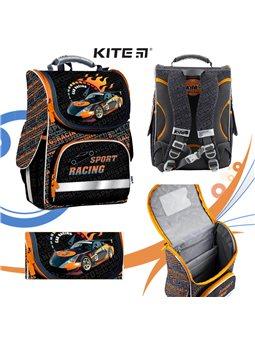 Рюкзак школьный каркасный Kite K18-501S-2 Sport racing