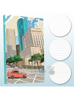 Блокнот TM Profiplan Streets note mint