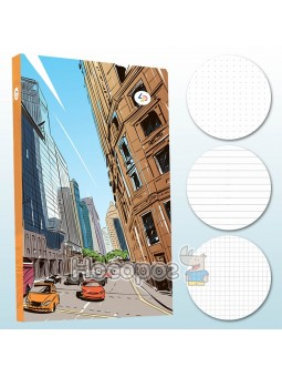 Блокнот TM Profiplan Streets note orange