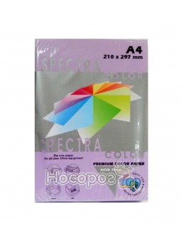 Папір ксерокс. кольор. А4 (100 арк.) SPECTRA COLOR (фіолетовий)