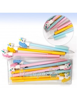 Ручка гелевая Единорог 3038