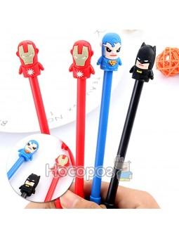 Ручка гелевая Супергерои 3043