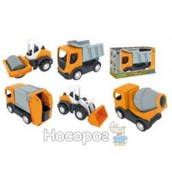 """Авто """"Tech truck"""" строительные наборы """"Тигрес"""" 35360"""