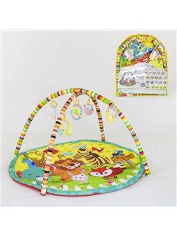 Килимок для немовлят A 129 (18) 5 підвісок-брязкалець, в сумці