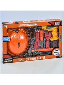 Набір інструментів 36778-76 (36) дриль на батарейках, в коробці