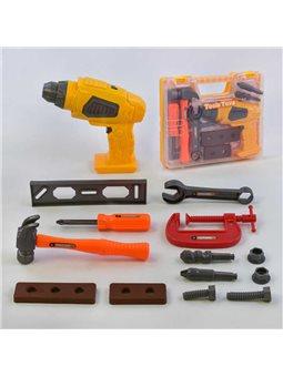 Набір інструментів 36778-80 (60) дриль на батарейках, в валізі