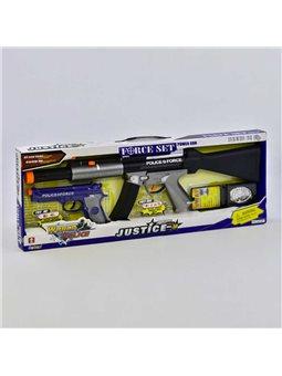 Набір поліцейського 34190 (24) світло, звук, вібрація, в коробці