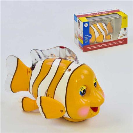 Фото Рыбка 998 (36) ездит, песня на английском языке, с подсветкой, в коробке