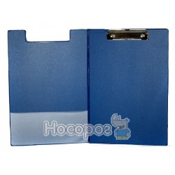 Планшет с прижимом двойной А4 4Office 4-258 синий