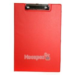 Планшет с прижимом двойной А4 4Office 4-258 красный