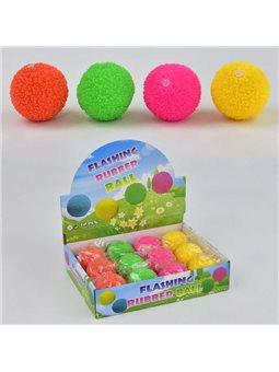 М'яч-стрибун З 23249 (24) СО СВІТЛОМ, 12 шт в блоці, 4 кольори, ЦІНА ЗА БЛОК