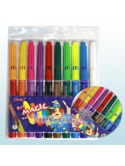 """Фломастери """"Magic"""" 064200 10 кольорів"""