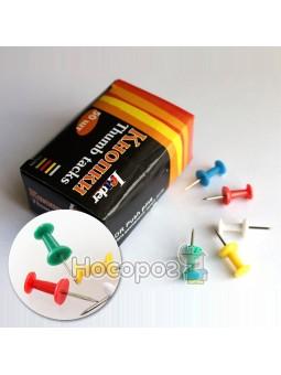 Кнопки-бочка Leader разноцветные 320240
