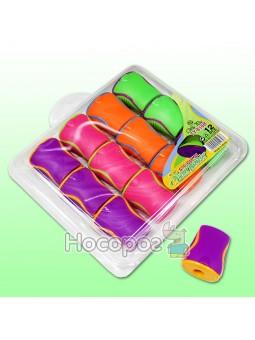 Точилка пластиковая 345106 цветная