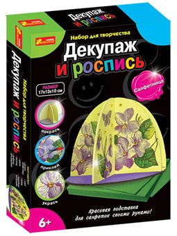 "Декупаж и роспись ""Салфетница"""