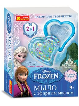 Мыло своими руками. Frozen. Disney