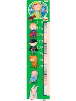 Ростомер для мальчика (зеленый)