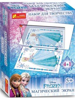 Магический экран. Frozen. Зима. Disney