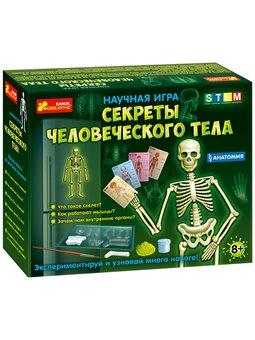 Анатомія. Секрети людського тіла. наукова гра