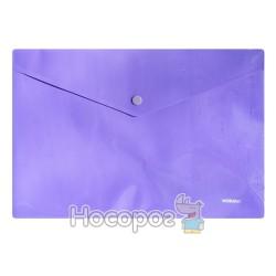 Папка с кнопкой NORMA фиолетовая 5017