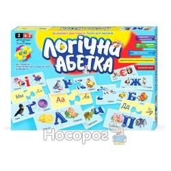 """Гра настільна Danko toys """"Логічна абетка"""" DT 66 Asp-U"""