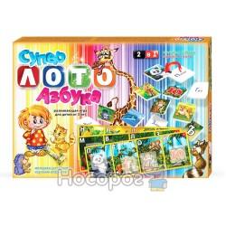 """Лото Danko toys """"Супер лото + азбука"""" ЛА 2"""