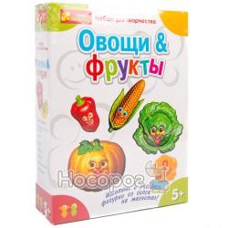 """4004 Гипс на магнитах """"Овощи,фрукты"""" 15100096Р"""