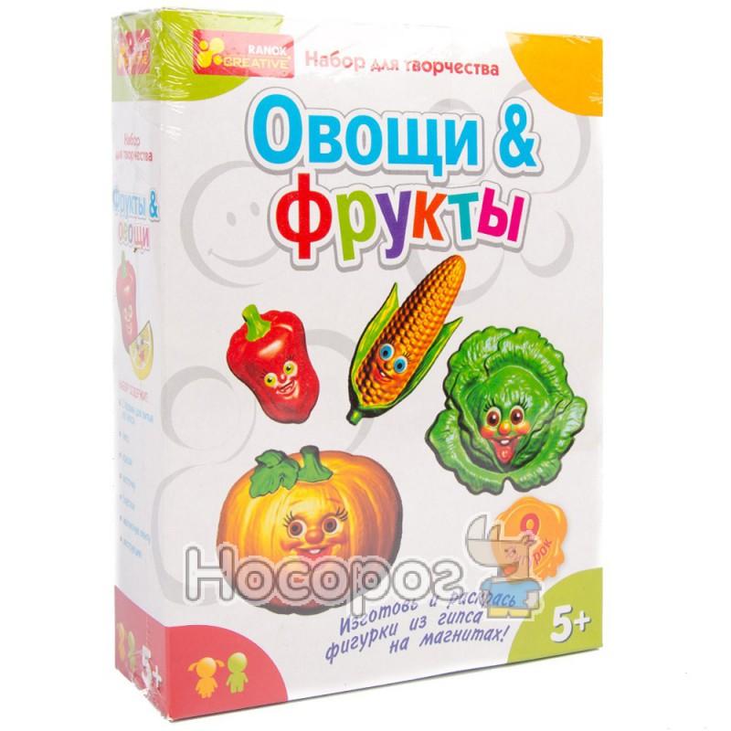 "Фото 4004 Гипс на магнитах ""Овощи,фрукты"" 15100096Р"