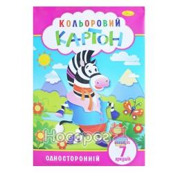 Картон кольоровий Апельсин КК-А4-7