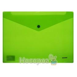 Папка с кнопкой NORMA 5017 зеленая