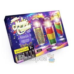 """Набір креативної творчості """"Magic Candle"""" парафінові свічки своїми руками MgC-01-01"""