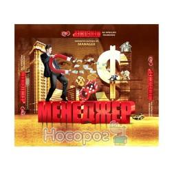 """Игра маленькая настольная Danko toys """"Менеджер"""" DT G 28-U (укр.)"""