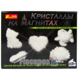 """0383 Набір """"Кристали на магнітах""""(білі) 12126004Р"""