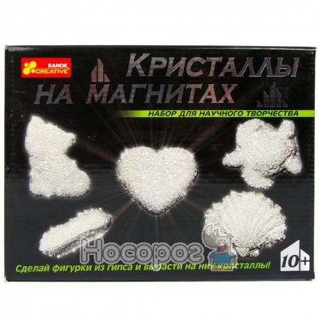 """0383 Набор """"Кристаллы на магнитах""""(белые) 12126004Р"""