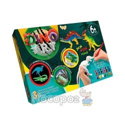 """Набор креативного творчества Danko toys """"Dino Art """" DA-01-01,02,03,04,05"""