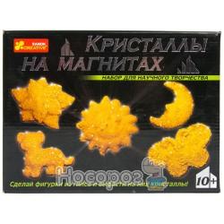 """0384 Набор """"Кристаллы на магнитах""""(жолтые) 12126001Р"""