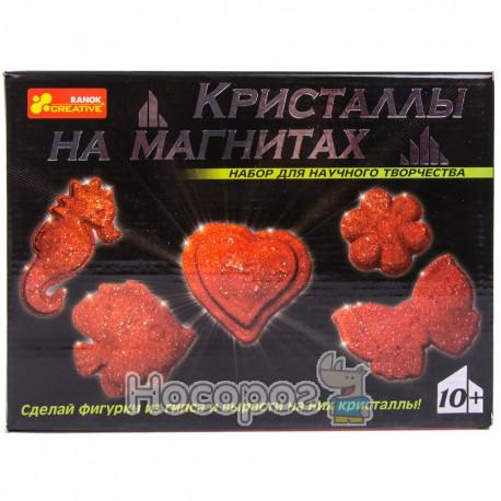 """0385 Набор """"Кристаллы на магнитах""""(красные) 12126002Р"""