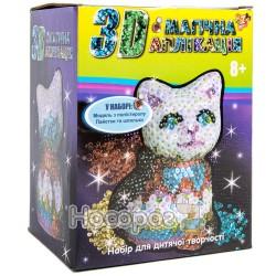"""Творческий набор 3Д Магическая аппликация """"Кошечка"""" 950884"""