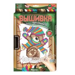 """Набор для творчества Danko toys """"Вышивка крестиком по номерам"""" VK-02-01"""