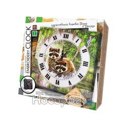 "Комплект для творчества Danko toys ""Embroidery clock"" EС-01-01, 02, 03, 04, 05"